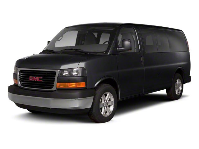 Onyx Black 2011 GMC Savana Passenger Pictures Savana Passenger Savana LS 135 photos front view