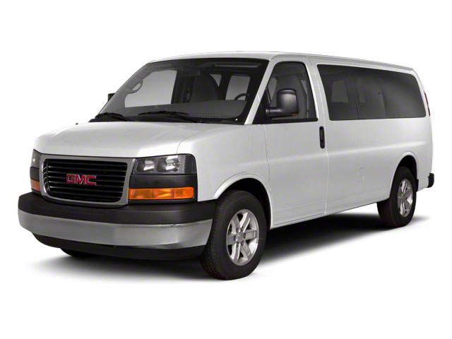 Summit White 2011 GMC Savana Passenger Pictures Savana Passenger Savana LS 135 photos front view