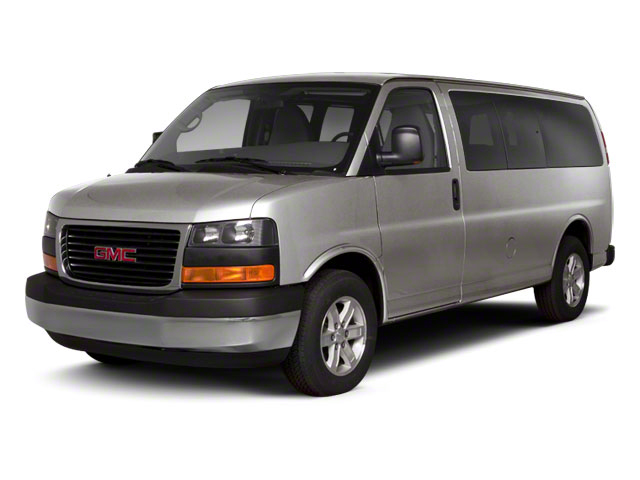 Pure Silver Metallic 2011 GMC Savana Passenger Pictures Savana Passenger Savana LS 135 photos front view