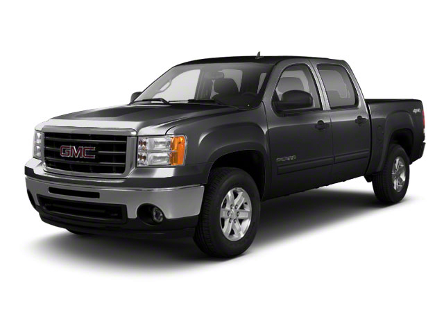 Onyx Black 2011 GMC Sierra 1500 Pictures Sierra 1500 Crew Cab SLE 2WD photos front view