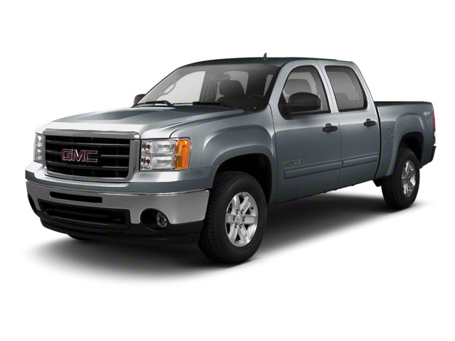 Stealth Gray Metallic 2011 GMC Sierra 1500 Pictures Sierra 1500 Crew Cab SLE 2WD photos front view