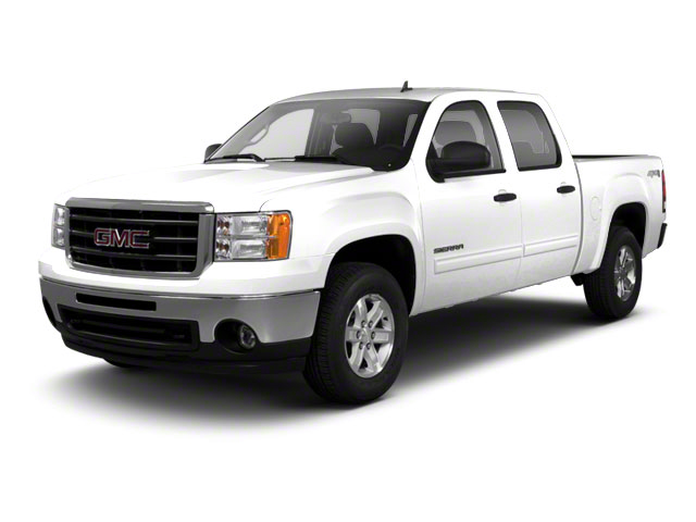 White Diamond Tricoat 2011 GMC Sierra 1500 Pictures Sierra 1500 Crew Cab SLE 2WD photos front view