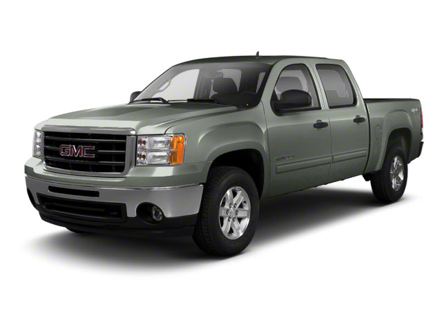 Gray Green Metallic 2011 GMC Sierra 1500 Pictures Sierra 1500 Crew Cab SLE 2WD photos front view