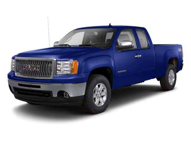 Laser Blue Metallic 2011 GMC Sierra 1500 Pictures Sierra 1500 Extended Cab SLT 2WD photos front view