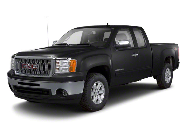 Onyx Black 2011 GMC Sierra 1500 Pictures Sierra 1500 Extended Cab SLT 2WD photos front view