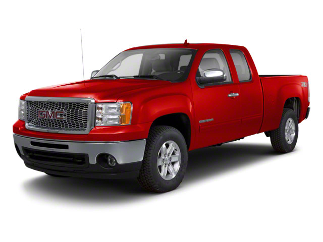 Fire Red 2011 GMC Sierra 1500 Pictures Sierra 1500 Extended Cab SL 4WD photos front view