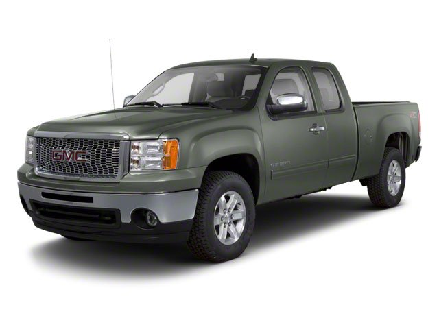 Gray Green Metallic 2011 GMC Sierra 1500 Pictures Sierra 1500 Extended Cab SL 4WD photos front view