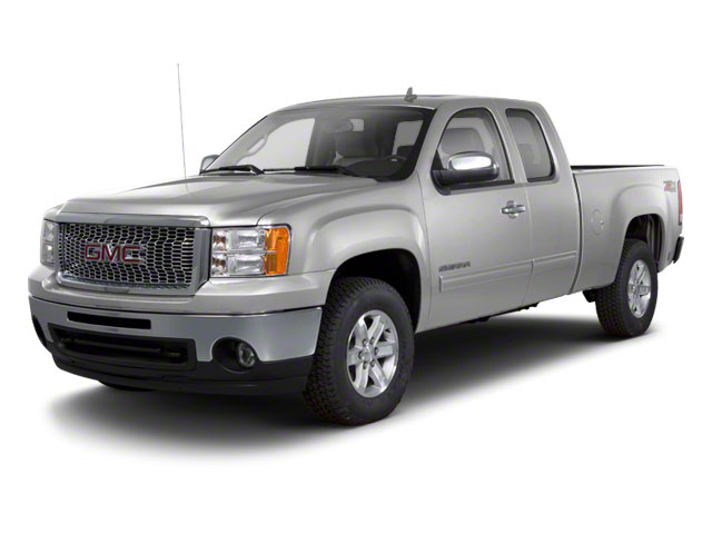Pure Silver Metallic 2011 GMC Sierra 1500 Pictures Sierra 1500 Extended Cab SLT 4WD photos front view