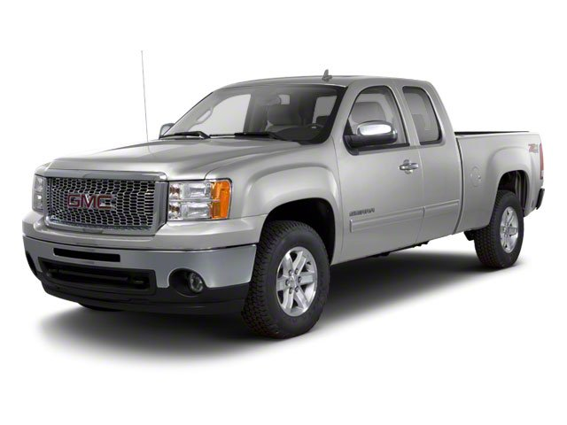 Pure Silver Metallic 2011 GMC Sierra 1500 Pictures Sierra 1500 Extended Cab SLT 2WD photos front view