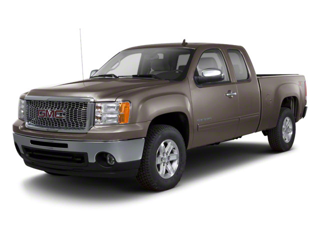 Mocha Steel Metallic 2011 GMC Sierra 1500 Pictures Sierra 1500 Extended Cab SLT 4WD photos front view