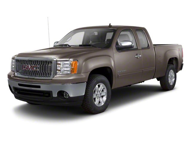 Mocha Steel Metallic 2011 GMC Sierra 1500 Pictures Sierra 1500 Extended Cab SLT 2WD photos front view
