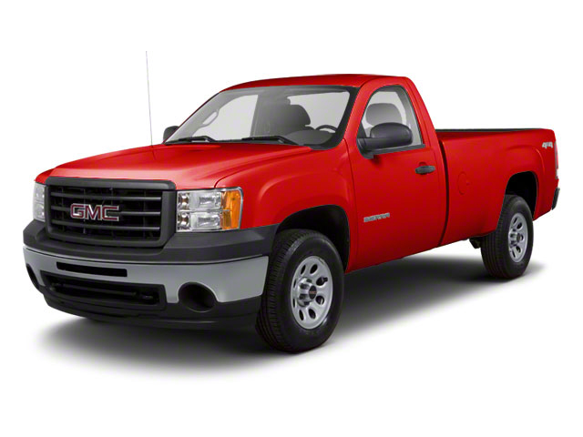 Fire Red 2011 GMC Sierra 1500 Pictures Sierra 1500 Regular Cab SLE 4WD photos front view