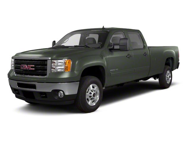 Gray Green Metallic 2011 GMC Sierra 2500HD Pictures Sierra 2500HD Crew Cab SLE 2WD photos front view