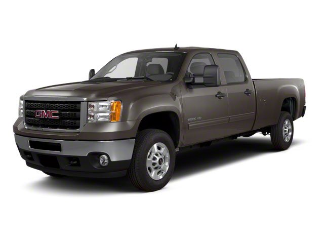 Storm Gray Metallic 2011 GMC Sierra 2500HD Pictures Sierra 2500HD Crew Cab SLE 2WD photos front view