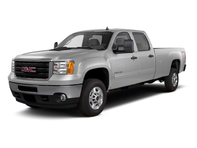 Pure Silver Metallic 2011 GMC Sierra 2500HD Pictures Sierra 2500HD Crew Cab SLE 2WD photos front view