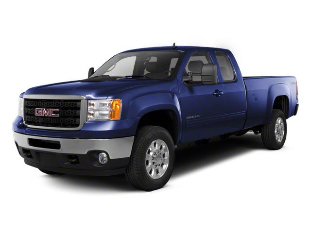 Midnight Blue Metallic 2011 GMC Sierra 2500HD Pictures Sierra 2500HD Extended Cab SLE 4WD photos front view