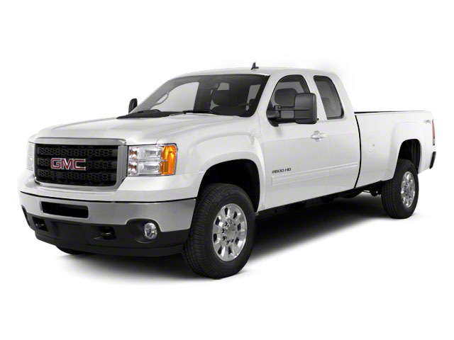 Summit White 2011 GMC Sierra 2500HD Pictures Sierra 2500HD Extended Cab SLE 4WD photos front view