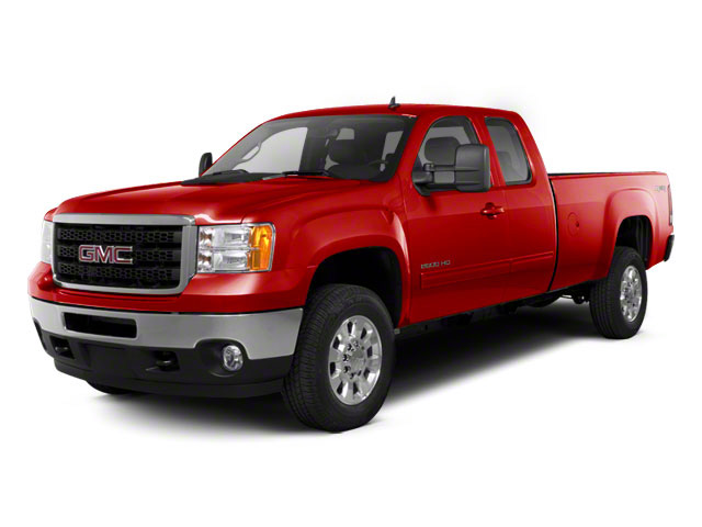 Fire Red 2011 GMC Sierra 2500HD Pictures Sierra 2500HD Extended Cab SLE 4WD photos front view
