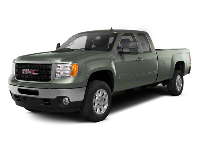 Gray Green Metallic 2011 GMC Sierra 2500HD Pictures Sierra 2500HD Extended Cab SLE 4WD photos front view