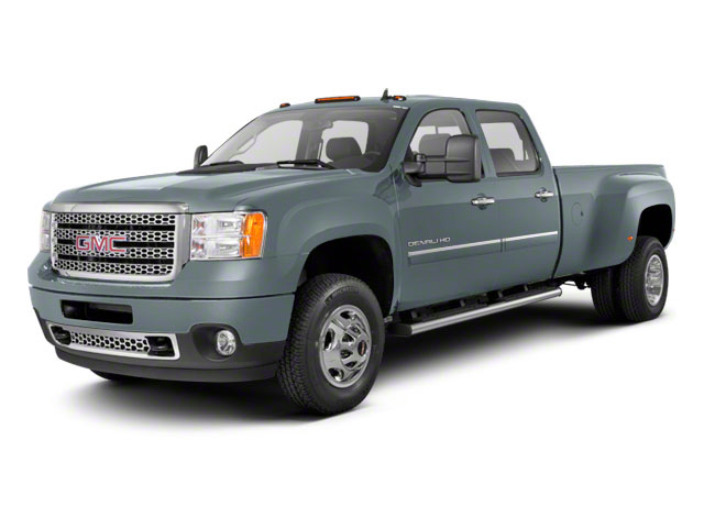 Stealth Gray Metallic 2011 GMC Sierra 3500HD Pictures Sierra 3500HD Crew Cab Denali 4WD photos front view