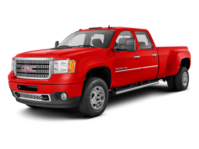 Fire Red 2011 GMC Sierra 3500HD Pictures Sierra 3500HD Crew Cab SLT 2WD photos front view