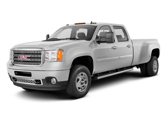 Pure Silver Metallic 2011 GMC Sierra 3500HD Pictures Sierra 3500HD Crew Cab SLT 2WD photos front view