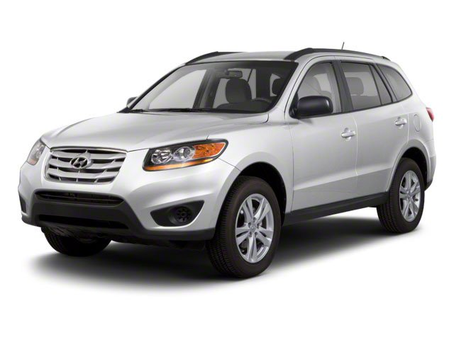 Moonstone Silver 2011 Hyundai Santa Fe Pictures Santa Fe Utility 4D Limited AWD photos front view