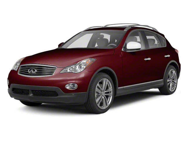 Midnight Garnet 2011 INFINITI EX35 Pictures EX35 Wagon 4D Journey AWD photos front view