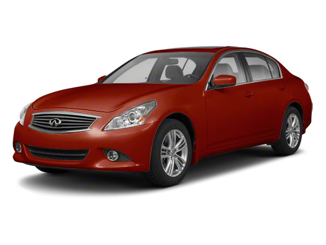Vibrant Red 2011 INFINITI G37 Sedan Pictures G37 Sedan 4D photos front view