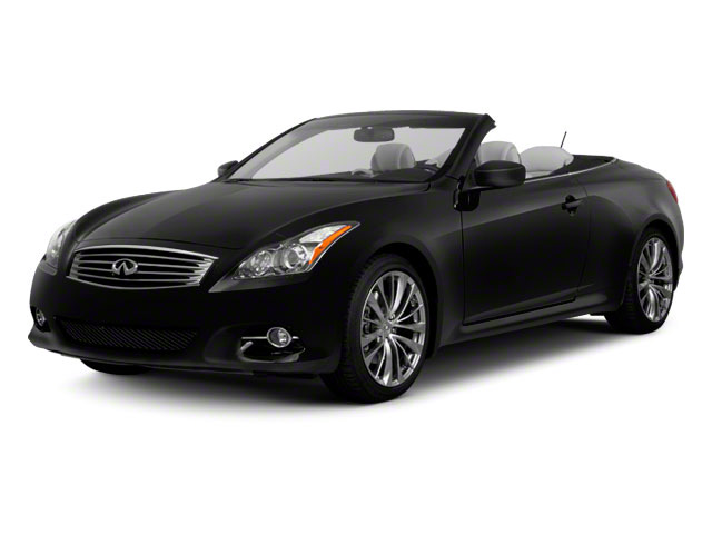 Black Obsidian 2011 INFINITI G37 Convertible Pictures G37 Convertible Convertible 2D 6 Spd photos front view