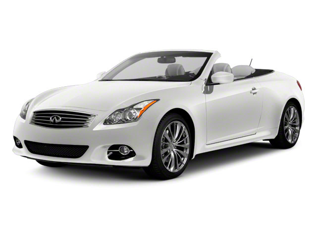 Moonlight White 2011 INFINITI G37 Convertible Pictures G37 Convertible Convertible 2D 6 Spd photos front view