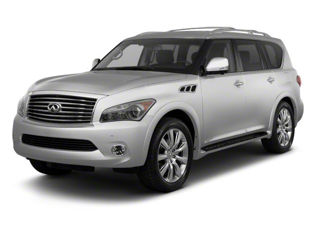 Liquid Platinum 2011 INFINITI QX56 Pictures QX56 Utility 4D 2WD photos front view