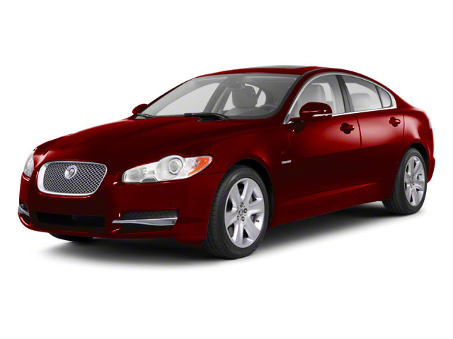Claret 2011 Jaguar XF Pictures XF Sedan 4D photos front view