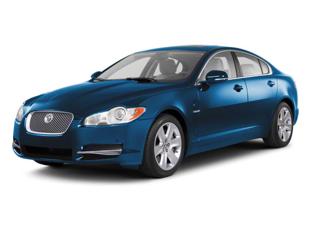 Crystal Blue 2011 Jaguar XF Pictures XF Sedan 4D photos front view