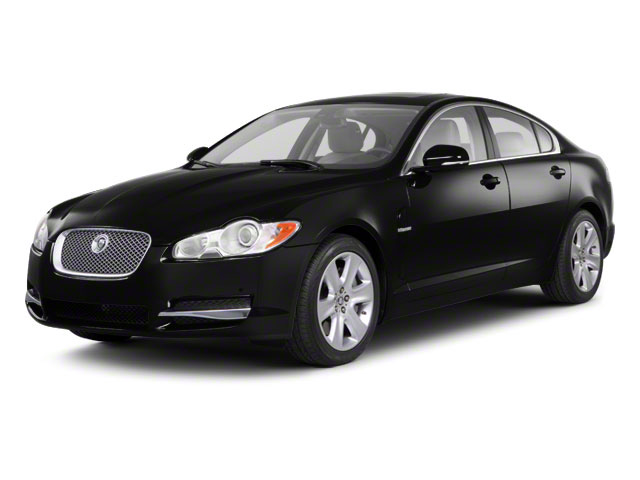 Ebony 2011 Jaguar XF Pictures XF Sedan 4D Portfolio photos front view