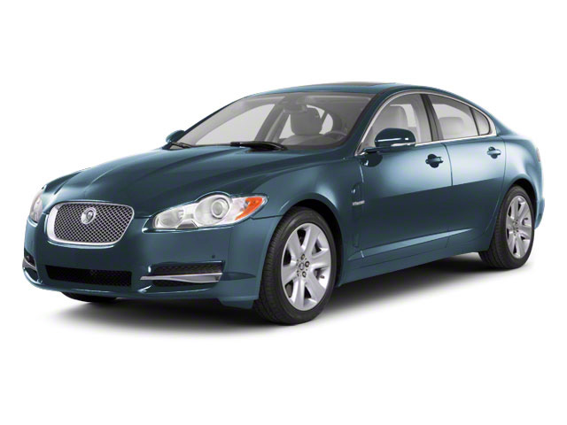 Frost Blue 2011 Jaguar XF Pictures XF Sedan 4D photos front view