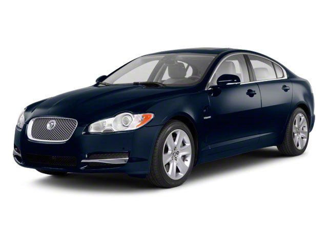 Indigo Blue 2011 Jaguar XF Pictures XF Sedan 4D Portfolio photos front view