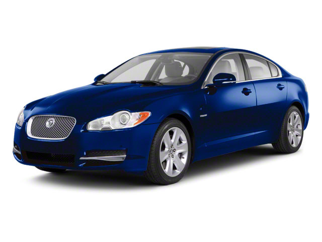 Spectrum Blue 2011 Jaguar XF Pictures XF Sedan 4D Portfolio photos front view