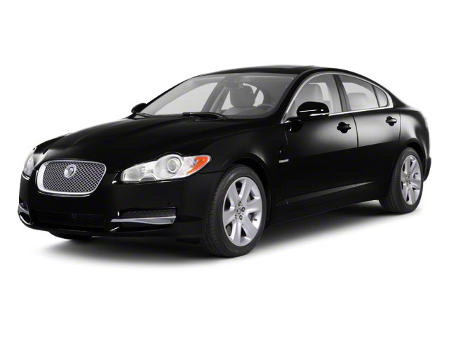 Ultimate Black 2011 Jaguar XF Pictures XF Sedan 4D photos front view