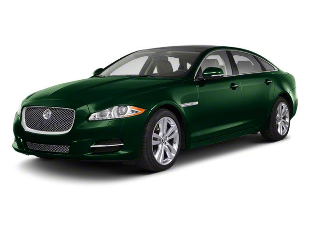 Botanical Green 2011 Jaguar XJ Pictures XJ Sedan 4D L Supersport photos front view
