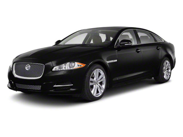 Ebony 2011 Jaguar XJ Pictures XJ Sedan 4D L Supersport photos front view