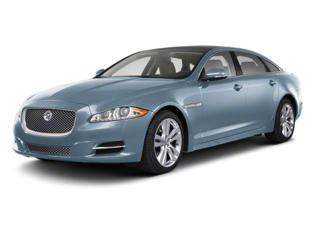 Frost Blue 2011 Jaguar XJ Pictures XJ Sedan 4D L Supersport photos front view