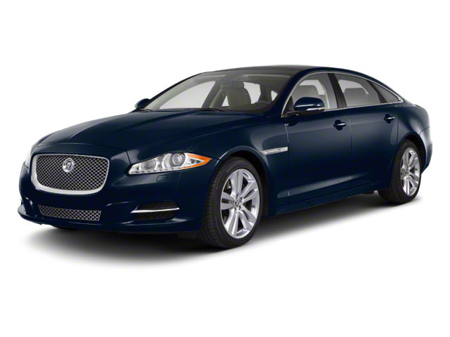 Indigo Blue 2011 Jaguar XJ Pictures XJ Sedan 4D L Supersport photos front view