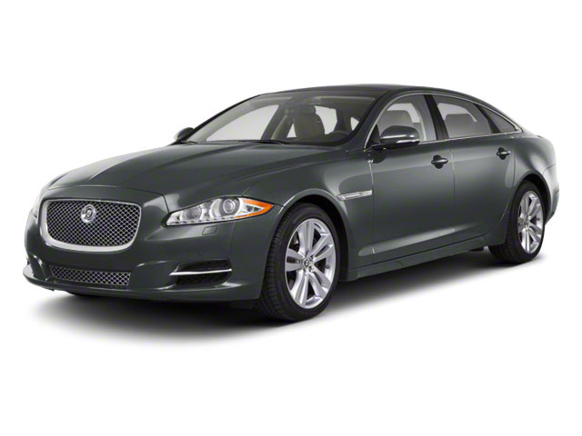Lunar Grey 2011 Jaguar XJ Pictures XJ Sedan 4D L Supersport photos front view