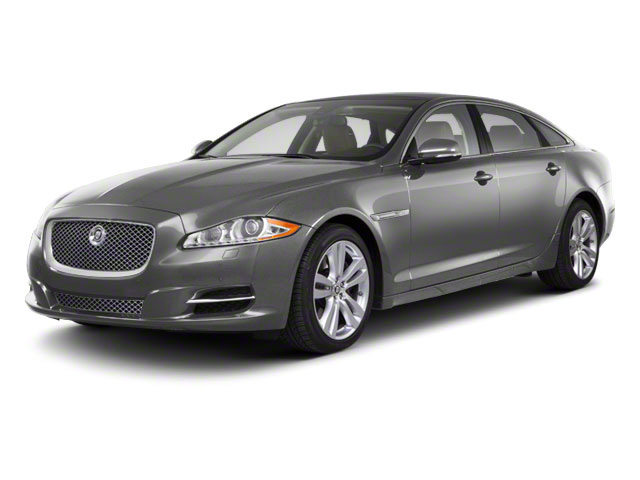 Liquid Silver 2011 Jaguar XJ Pictures XJ Sedan 4D L Supersport photos front view