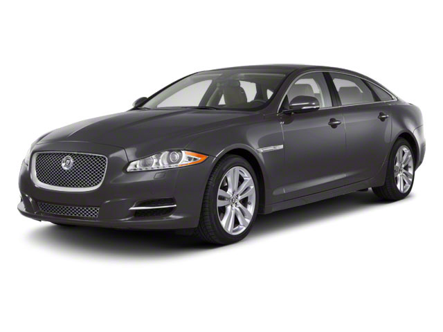 Pearl Grey 2011 Jaguar XJ Pictures XJ Sedan 4D L Supersport photos front view