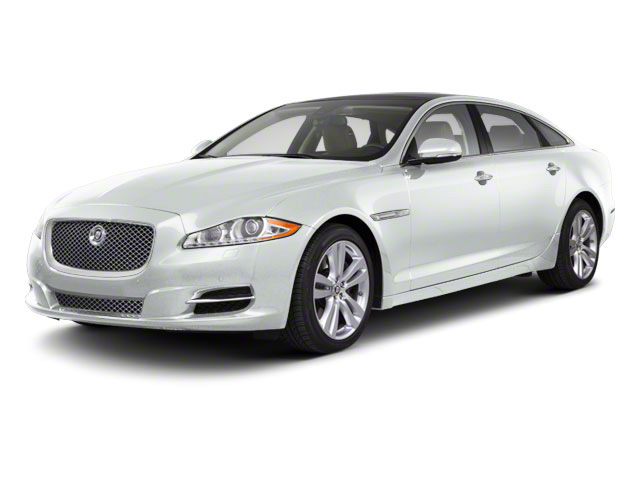 Polaris White 2011 Jaguar XJ Pictures XJ Sedan 4D L Supersport photos front view