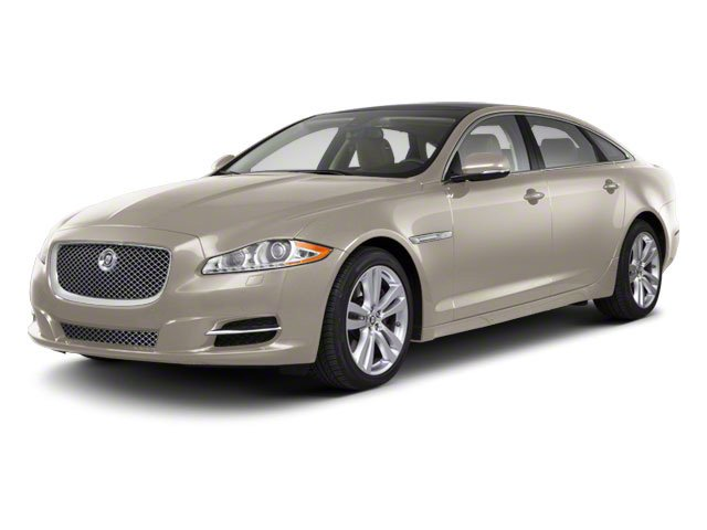 Porcelain 2011 Jaguar XJ Pictures XJ Sedan 4D L Supersport photos front view