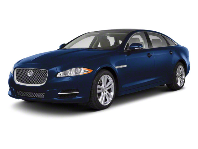 Spectrum Blue 2011 Jaguar XJ Pictures XJ Sedan 4D L Supersport photos front view