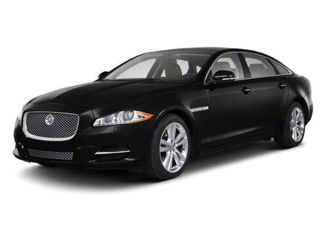Ultimate Black 2011 Jaguar XJ Pictures XJ Sedan 4D L Supersport photos front view